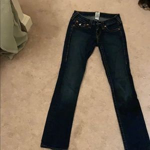 Dark blue wash True Religion Jeans